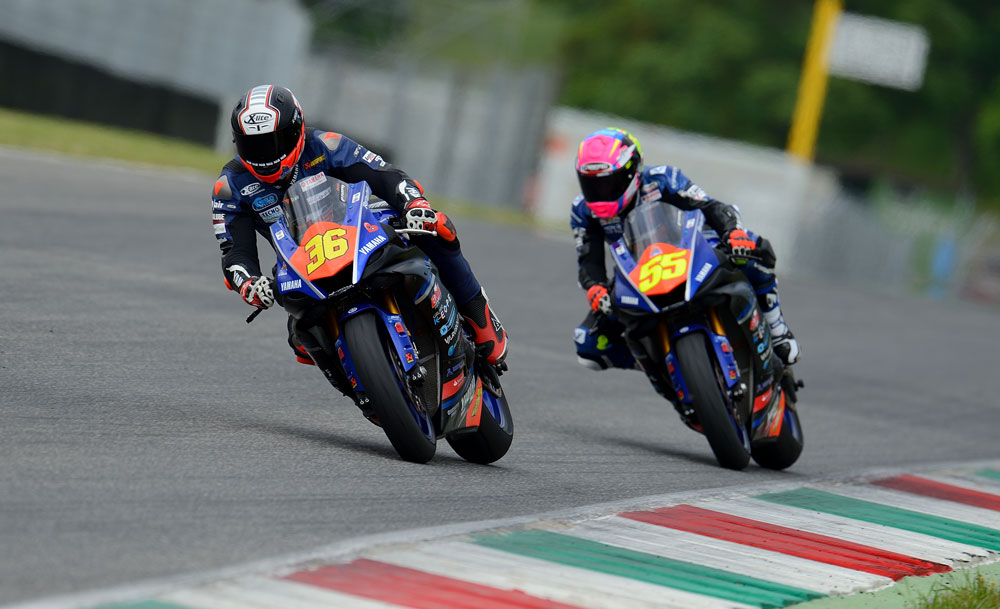 Lorenzo Gabellini e Massimo Roccoli - Gas Racing Team Yamaha