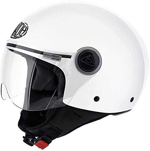 Casco JET Airoh Compact Pro Bianco Taglia S