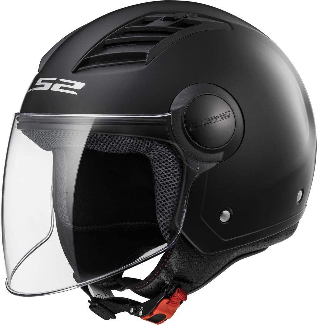 LS2 Casco Moto Of562 Airflow, Gloss Black