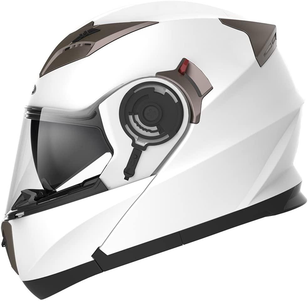 Casco Modulare Moto Integrale Scooter - YEMA YM-925