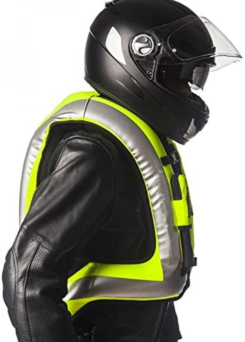 Gilet Airbag Turtle Hi-Vis in colore giallo