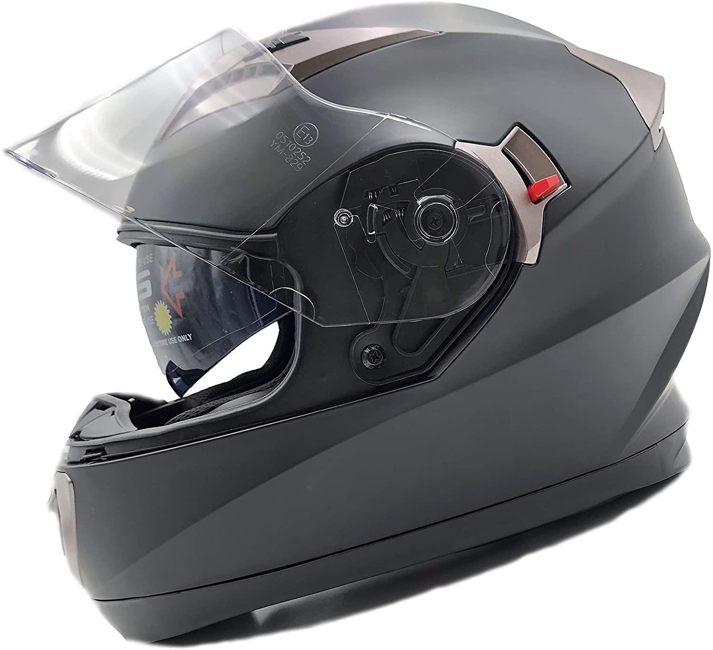 NATHUT NH009 Casco Integrale Moto ECE Omologato