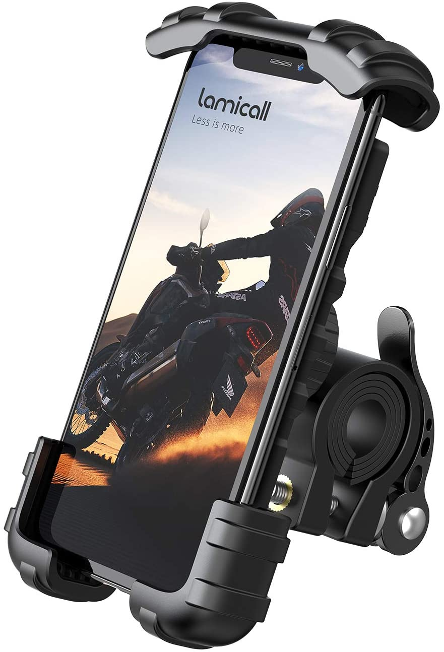 Supporto Telefono Bicicletta, Metallico Supporto Motociclo - Manubrio Supporto Cellulare