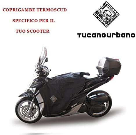 TERMOSCUD TUCANO URBANO SPECIFICO R090-X COPRIGAMBE PER MBK OCEO 125 DAL 2012 : YAMAHA
