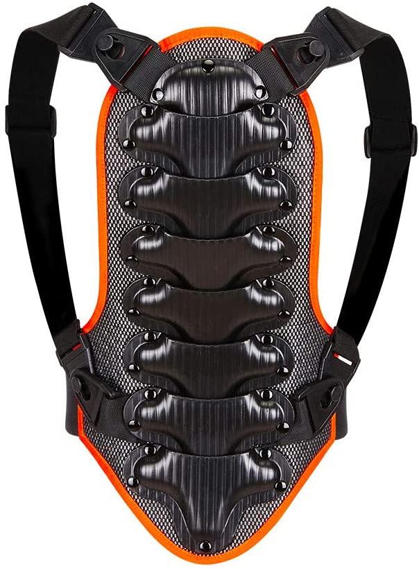 WOSAWE Paraschiena, Traspirante Regolabile Abbigliamento Protettivo per Moto